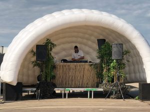Amsterdam festival tent